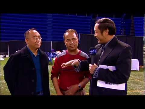 Hmong American New Year 2012 -Interview -Xu Vang, Chair and Tou Hmong Yang, Vice Chair