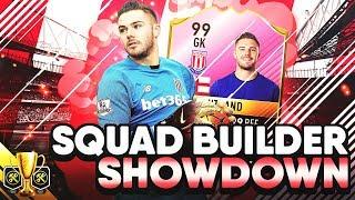 FIFA 17 SQUAD BUILDER SHOWDOWN W FUTTIES BUTLAND VS REEV SBSD CUP ULTIMATE TEAM