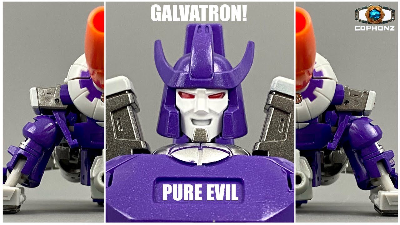 No words review of Newage H23 Darius (Galvatron!) by cophonz