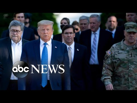 Defense secretary breaks with Trump over deploying troops to cities  WNT