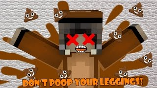 Minecraft Map Don't Poop Your Leggings! ห้ามขี้รดกางเกงเด็ดขาด
