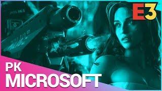 E3 2018 | Microsoft PK: Cyberpunk 2077, Halo Infinite, Captain Spirit, The Division 2 & Battletoads