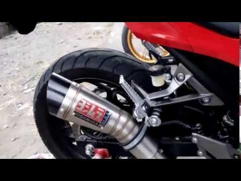 Suara Ninja 250cc Dengan Knalpot Yoshimura Limited Edition