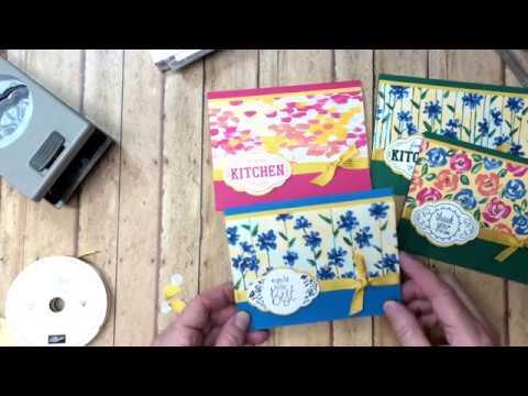 Label Me Pretty Using Garden Impressions Designer Series Paper