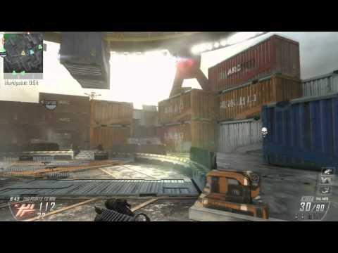 Black ops 2 Cargo Hardpoint 46-9 Gun Law!!