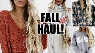 Huge Fall Try On Haul! // 2017