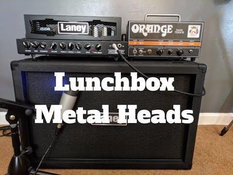 Best Lunchbox Amp Head For Metal? Laney Ironheart 15 Vs Orange Dark Terror?