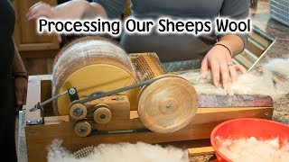 Processing Our Own Wool