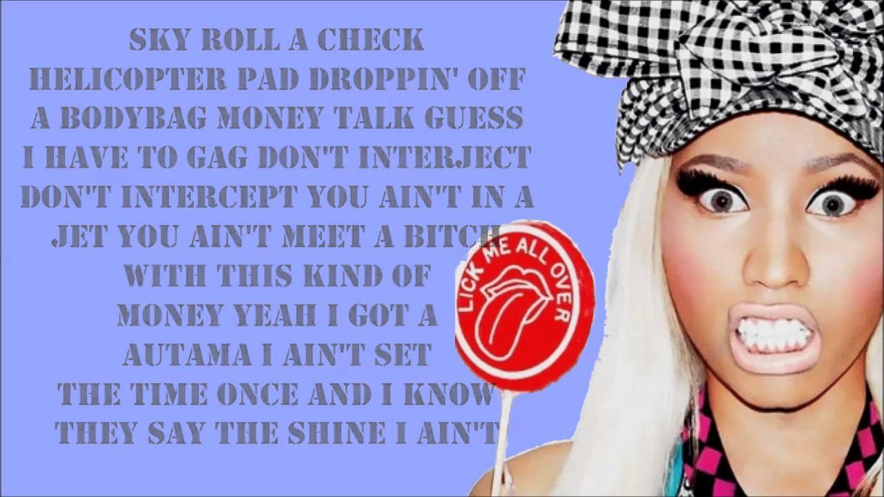 Nicki Minaj Senile Verse Lyrics YouTube