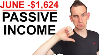 My Passive Income & Expenses For June 2020 - Dividends, Websites & Investments
