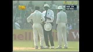 Shoaib Akhtar FEROCIOUS SPELL vs AUSTRALIA 1998 2nd test