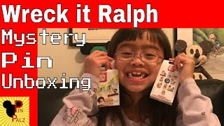Disney Mystery Pin Unboxing, Wreck it Ralph 2
