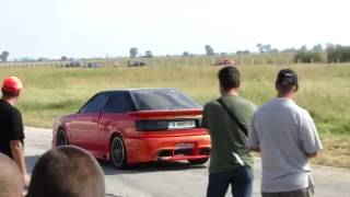 The Battle,Test Run of Audi S2 ,The Orange beast