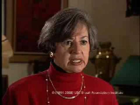 Holocaust Survivor Nechama Shneorson Testimony Segment