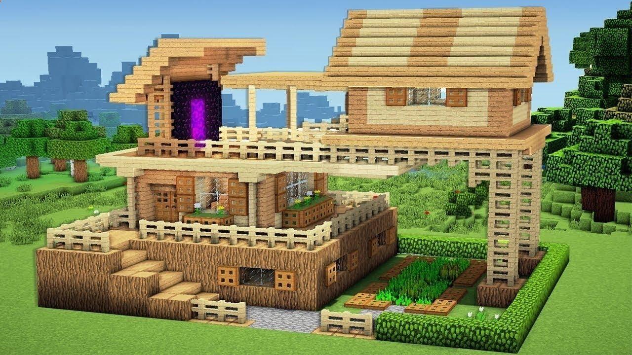 идея для дома в майнкрафте #4