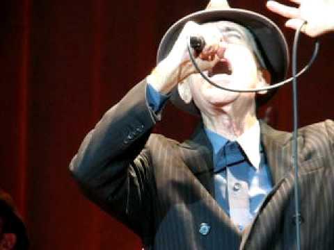 Leonard Cohen live - So Long Marianne