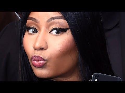 Nicki Minaj Responds To Cardi B Feud In Awkward   Hollywoodlife