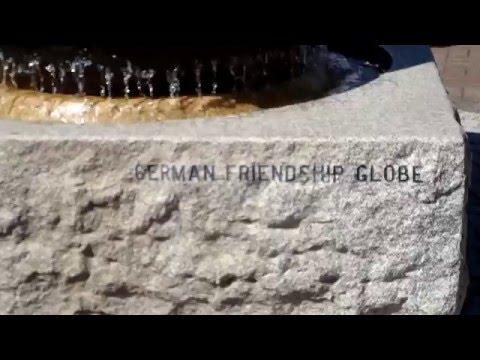 German Friendship Globe