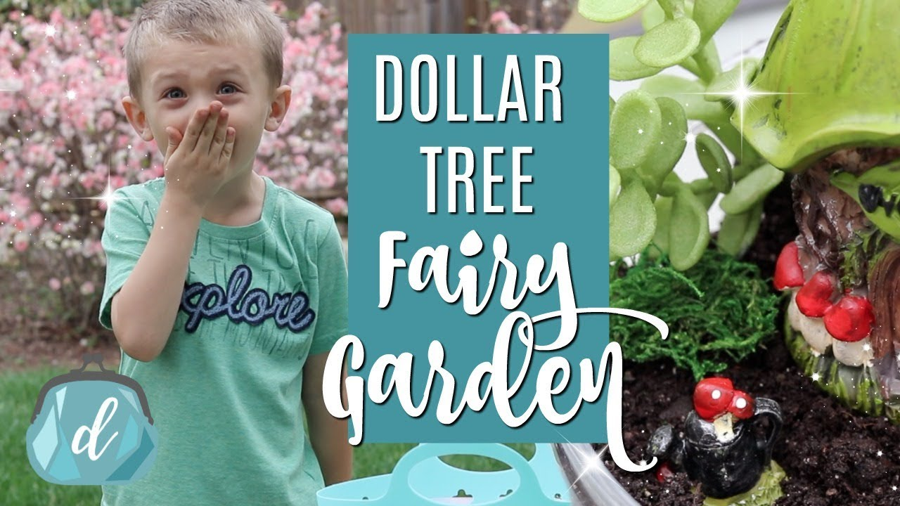 DIY Mini Dollar Tree Fairy Garden ...