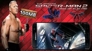 The Amazing Spider-Man 2 (100 Mb / Offline) Android highly compressed ...{part by part}