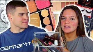 MY HUSBAND PICKS MY MAKEUP & WEAR TEST! |  Casey Holmes