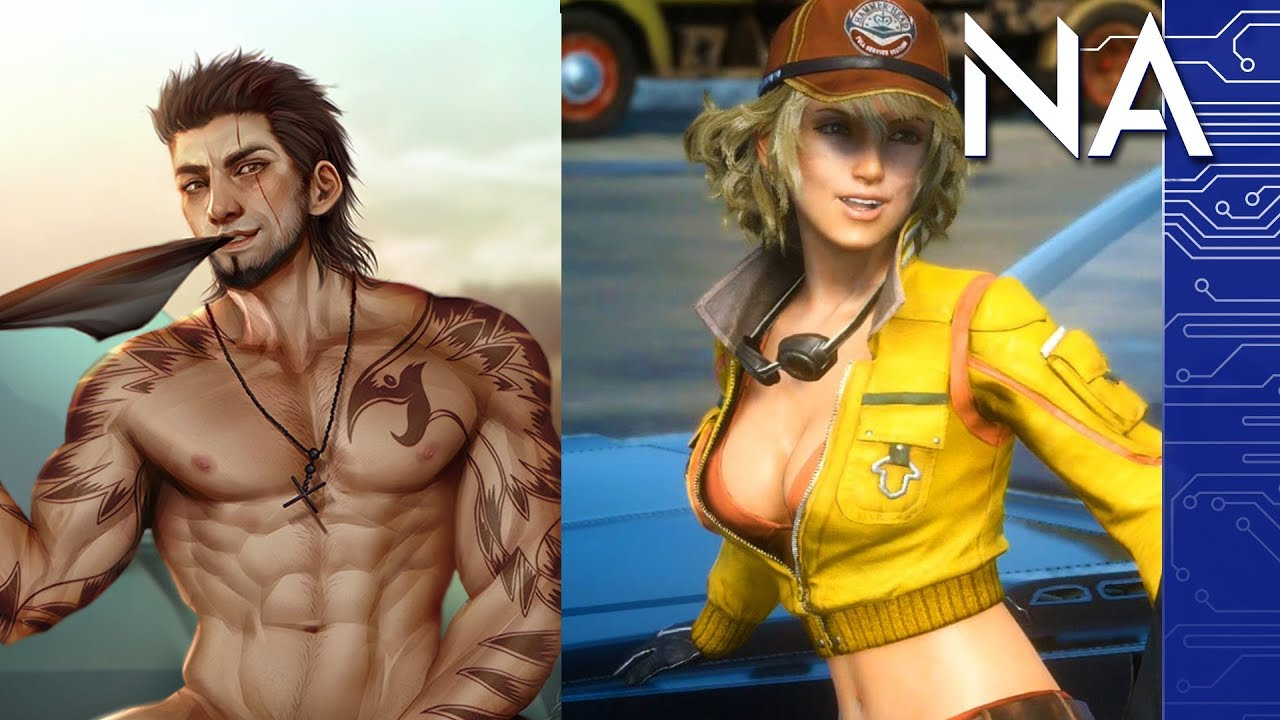 nude sexy final fantasy girls