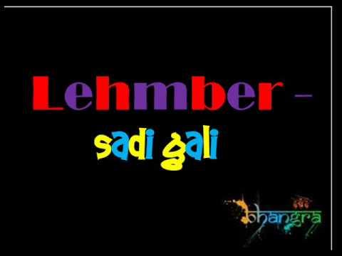 Lehmber - Sadi Gali