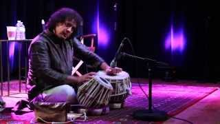 Zakir Hussain - Teaching & Playing tabla 11/11