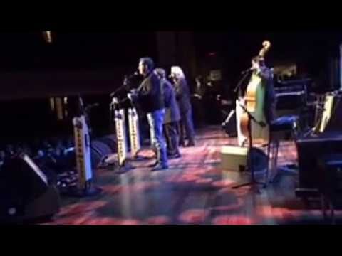 """Paul Brewster of Ricky Skaggs & Kentucky Thunder sings """"Get Down On Your Knees and Pray"""" @ The Ryman"""