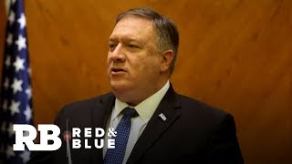 Secretary of State Mike Pompeo speaks to World Economic Forum