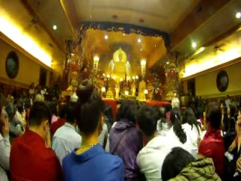 Monk Chants for Chinese New Year at Vietnamese Buddhist Center