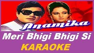 meri bhigi bhigi si Karaoke