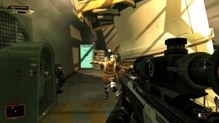 Deus Ex: Human Revolution - Various Gun Gameplay [PC]