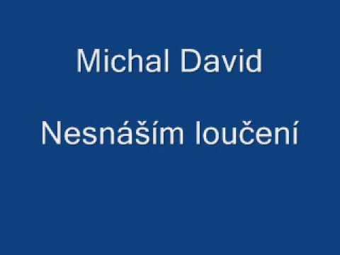 Michal David-Nesnáším loučení