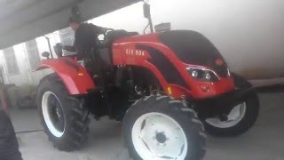 QLN 90hp farm tractor for sale is delivering to Costa Rica