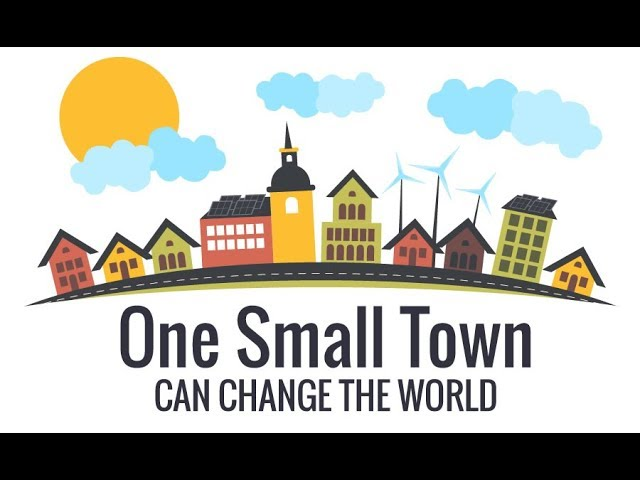 One Small Town - Will Change The World
