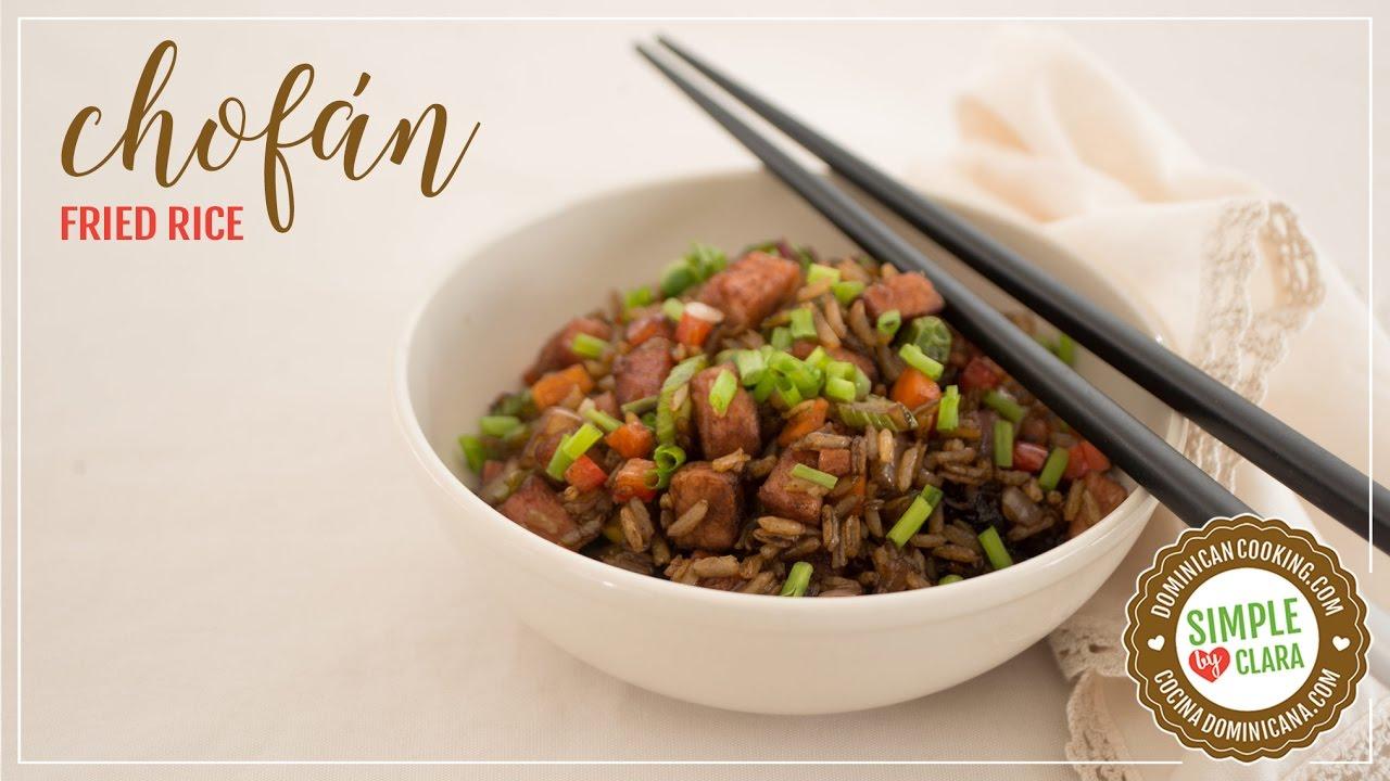 Chofán (Fried Rice) - YouTube