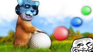 TROLLEI O RATÃO BORRACHUDO no GOLF!!! - Golf It thumbnail