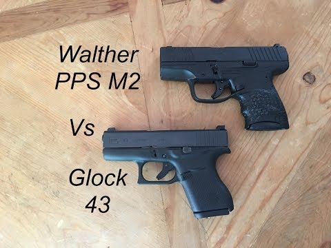 Glock 43 vs Walther PPS M2- If I Could Only Have One...