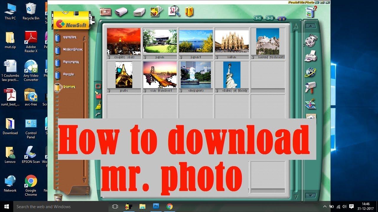 Presto! Mr. Photo 4. 0 download (free trial) mrstart. Exe.