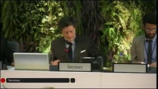 UNEA-3: Plenary (National Statements) - English Language thumbnail