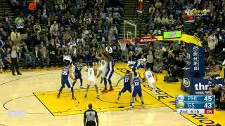 Ben Simmons Defense On Stephen Curry, November 11, 2017