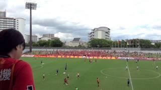 2013/9/8 第93回天皇杯 2回戦 名古屋グランパス×AC長野パルセイロ 名古...