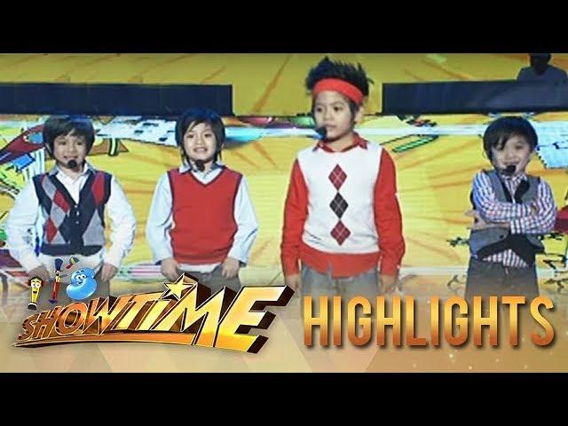 MiniMe ng F4 nagpakilig ng madlang people sa It's Showtime