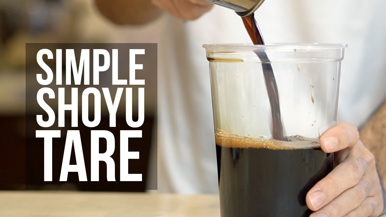 Download How to Make an Awesome Simple Shoyu Tare (Recipe)