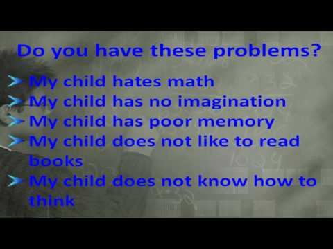 how to make kids think more and study fast
