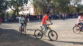 cycle race video || slowmotion cycles race ||Tolani commerce college