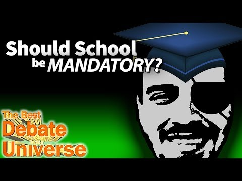 Should school be mandatory? Robby Epicsauce - Best Debate in the Universe