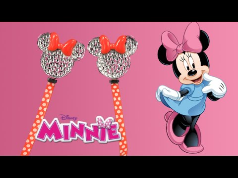 Minnie Mouse Fashion Earbuds from KIDdesigns