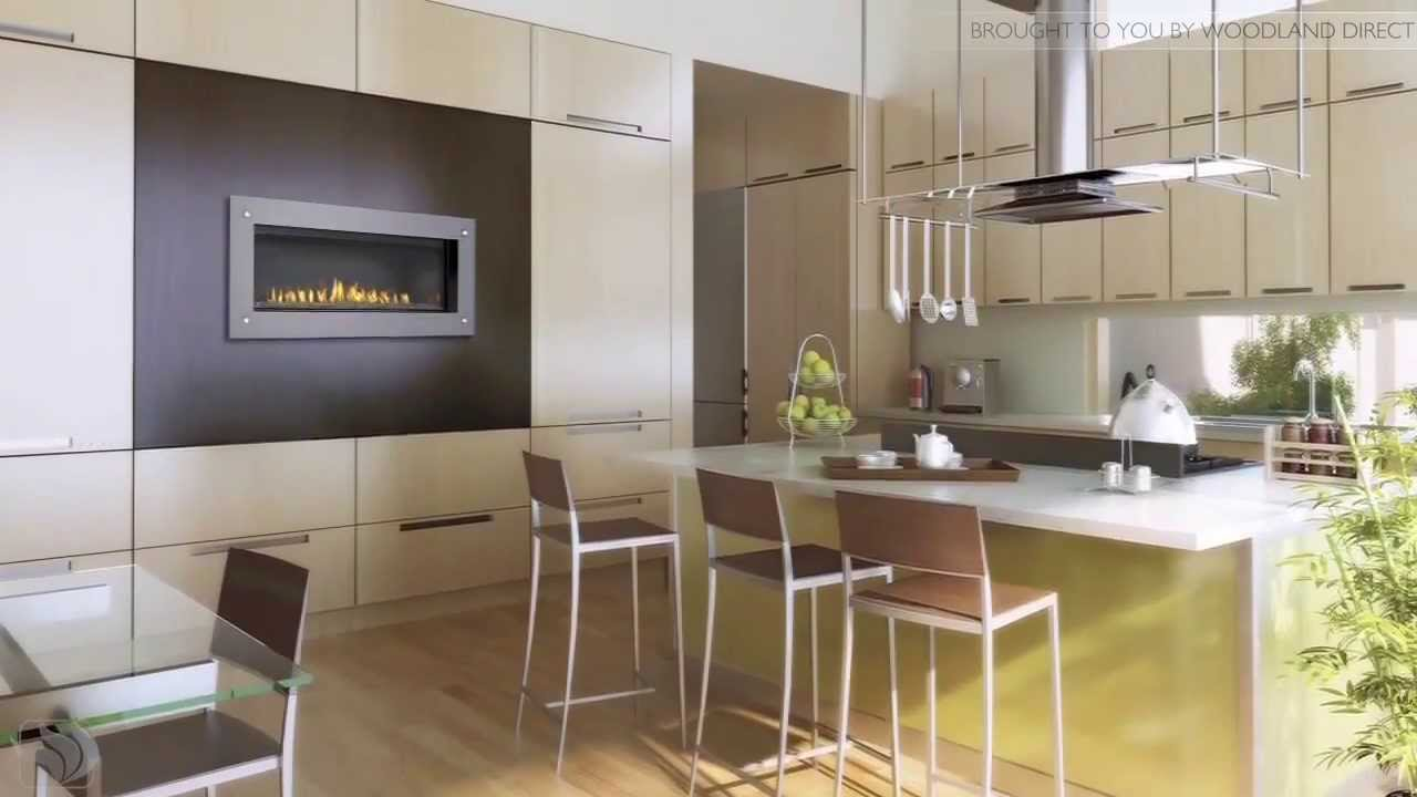 Napoleon LHD45 Torch Direct Vent Gas Fireplace - YouTube